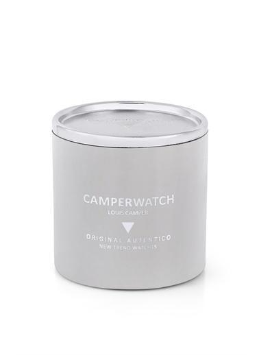 Camper Camper Watch Cmpr40397Se 46 Mm.  Deri Kordon  Erkek Analog Kol Saati Siyah